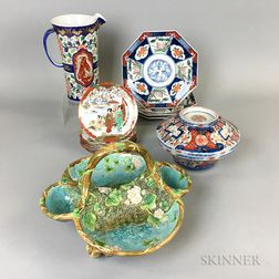 Small Group of Ceramic Tableware