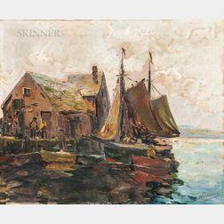 Anthony Thieme (American, 1888-1954)      Motif #1, Rockport