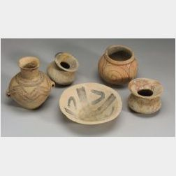 Five Pieces of Neolithic Pottery