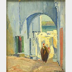 Daisy Marguerite Hughes (American, 1882-1968)      Tanger   (Africa)
