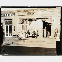 Walker Evans (American, 1903-1975)       Sidewalk Scene, Selma, Alabama
