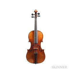 German Violin, Josef Metzner, 1920