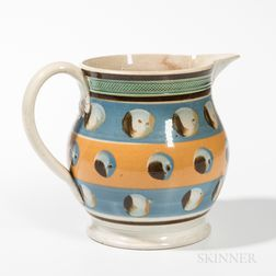 Mocha Cat's-eye Baluster-form Jug