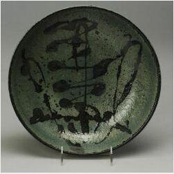"Wedgwood ""Elwyn James"" Decorated Stoneware Bowl"