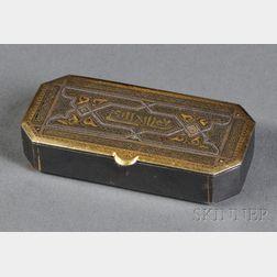 Metal Snuff Box
