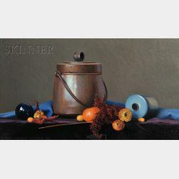 Robert Douglas Hunter (American, b. 1928)      Orange and Blue Complements