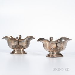 Two Tiffany & Co. Sterling Silver Sauceboats