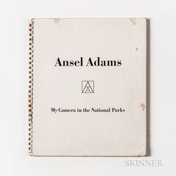 Adams, Ansel (1902-1984) My Camera in the National Parks  , Signed.