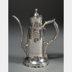 Whiting Manufacturing Co. Sterling Trophy Demitasse Pot