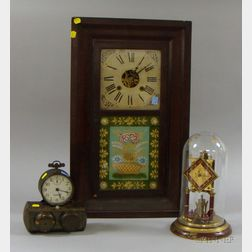 Three Clocks of Various Manufacturers