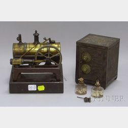 Steam Engine and Toy Bank