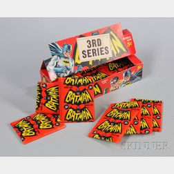 Complete Box of 1966 Topps Batman   Television Gum Cards