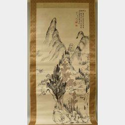 Nukina Kaioka (1778-1863), Chinese Mountain Landscape