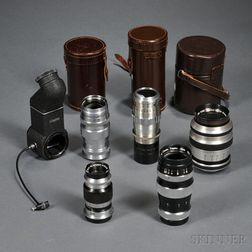 Various M39 Screw-mount Lenses
