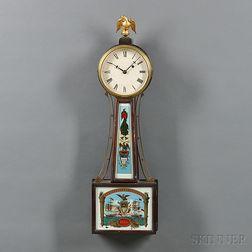 "Herschede Hall Clock Co. ""Banjo"" Clock"