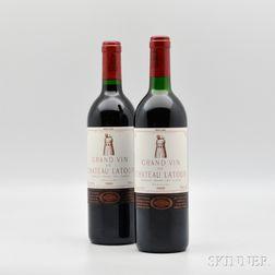 Chateau Latour 1990, 2 bottles