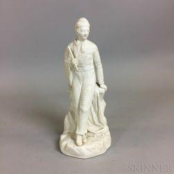 Minton Parian Figure of a Boy
