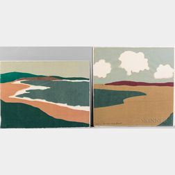 Two Richard Kemble Woodcuts