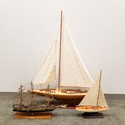 Three Ship Models