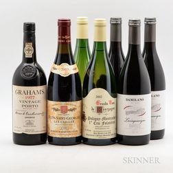 Mixed Wines, 7 bottles