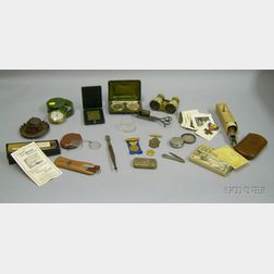 Group of Miscellaneous Collectible, Desk, and Other Items