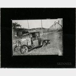 Walker Evans (American, 1903-1975)       Junked Auto, Cape Cod