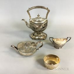Assembled Sterling Silver Tea Set