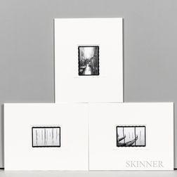 Three William P. Thayer Photographs of Venice