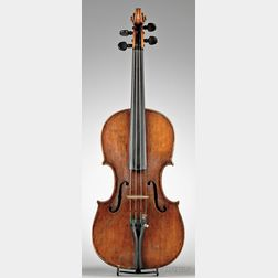 Italian Violin, Jacobus Cordanus, Genoa, c. 1770