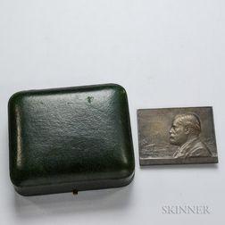 Marey, Étienne-Jules (1830-1904) Medal by Paul Richer