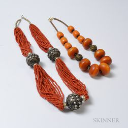 Two Bead Necklaces