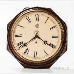Waterbury Octagonal Gallery Clock