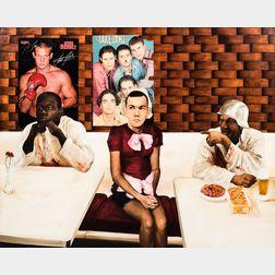 Attila Richard Lukacs (Canadian, b. 1962)      Restaurant Scene