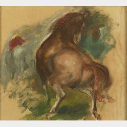 Jon Corbino (Italian/American, 1905-1964)  Horse