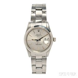 "Gentleman's Stainless Steel ""Oyster Perpetual"" Wristwatch, Rolex"