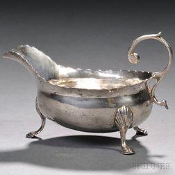 George III Sterling Silver Sauceboat