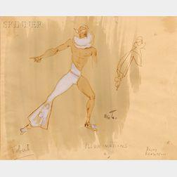 Sir Cecil Beaton, C.B.E. (British, 1904-1980)      Costume Design for Les Illuminations