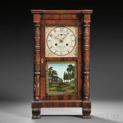 Curtis & Clark Miniature Salem Bridge Shelf Clock