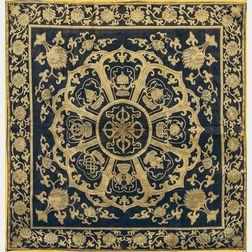 """Silk Brocade """"Dorgi"""" Panel"""