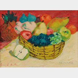 Jean Isy de Botton (French, 1898-1978)      Corbeille de Fruits