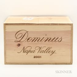 Dominus Estate 2001, 6 bottles (owc)