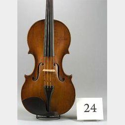 Dutch Violin, Hendrick Jacobs, Amsterdam, c. 1700