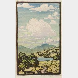Francis Hammel Gearhart (American, 1869 - 1959)  Summer Clouds.