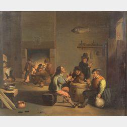 Flemish School, 17th Century Style    Afternoon Gathering