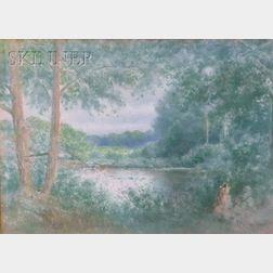 C. Myron Clark  (American, 1858-1925)      Woodland View