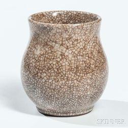 Crackle-glazed Vase