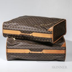 Two Louis Vuitton Rolling Suitcases