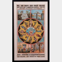 Circus Posters, Six Examples.