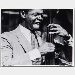 Chester Sheard (American, 1929-2015)      Three Photographs of Jazz Legends: Miles Davis & Herbie Hancock, John Coltrane