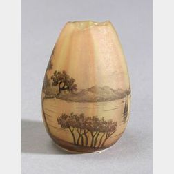 Daum Nancy Miniature Cabinet Glass Vase